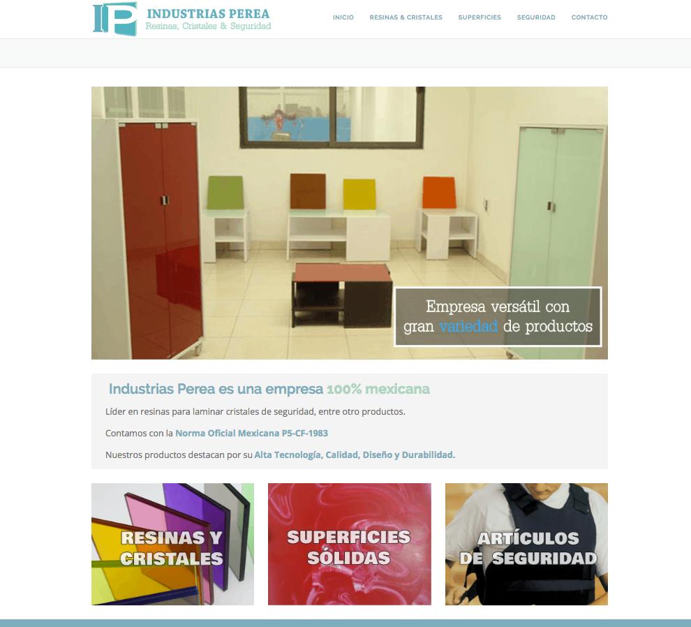 industriasperea.com.mx